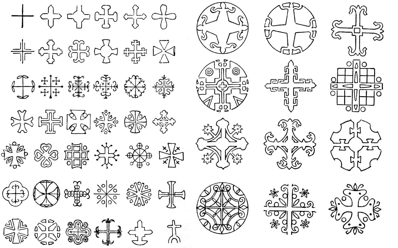 Tipos De Cruces grafÍa vasca
